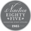Nineteen Eighty Five Sticky Logo