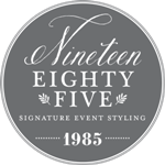 Nineteen Eighty Five Retina Logo